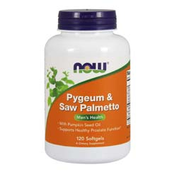 Now Foods Pygeum and Saw Palmetto Extract