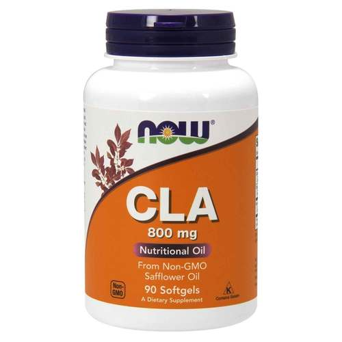 Now Foods CLA  - 800 mg - 90 Softgels - 9576_front.jpg