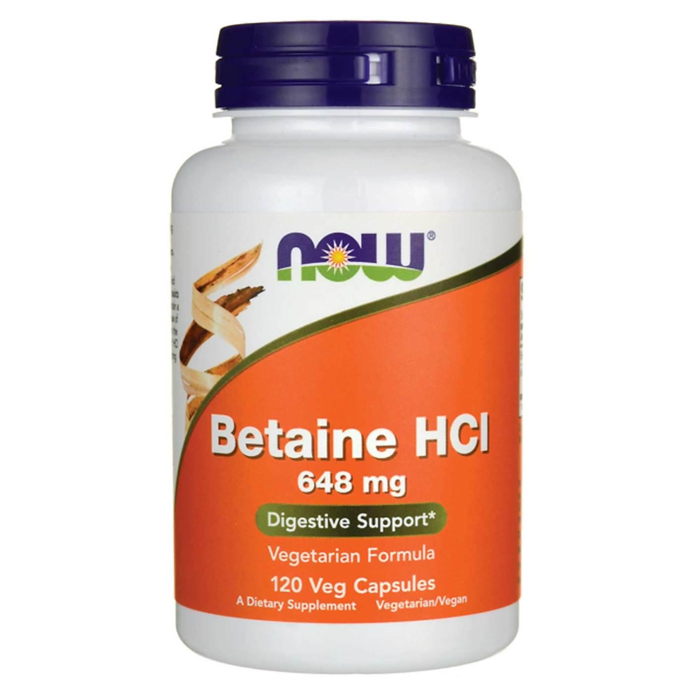 Betaine Foods List