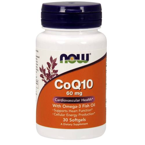 CoQ10 with Omega 3 Fish Oil
