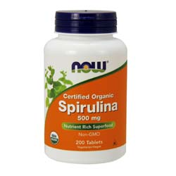 Now Foods Spirulina 500 mg