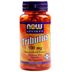 Now Foods Tribulus 500 mg 45% Extract