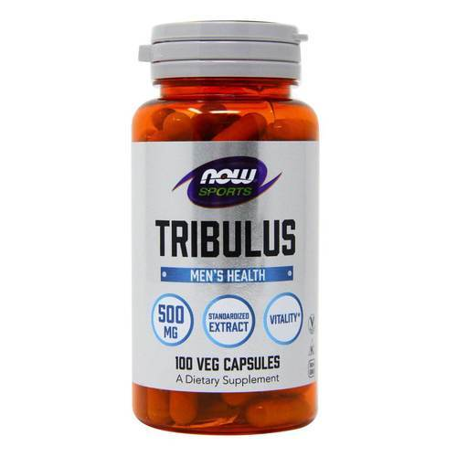 Now Foods Tribulus  - 500 mg - 100 Capsules - 9646_front2020.jpg