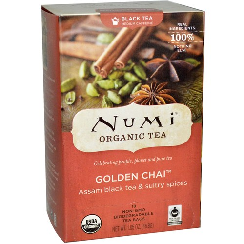 Numi Tea Organic Tea Golden Chai - 18 tea bags - 29990_01.jpg