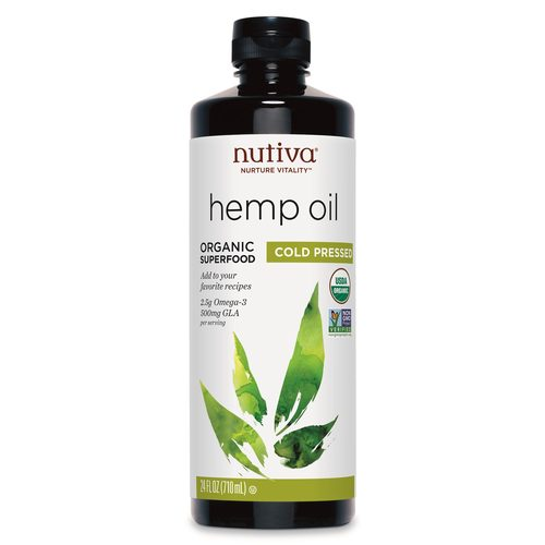 Organic Hempseed Oil Liquid