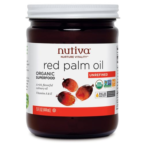 Nutiva Red Palm Oil  - 15 fl oz - 61818_front.jpg