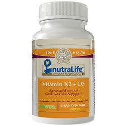 NutraLife Vitamin K2 + D3