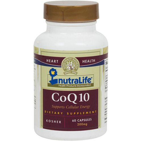 NutraLife CoQ10  - 200 mg - 60 Capsules