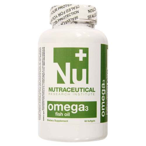 Omega 3 Fish Oil 鱼油 by Nutraceutical Research Institute - 60 SoftGel - 15870_front.jpg