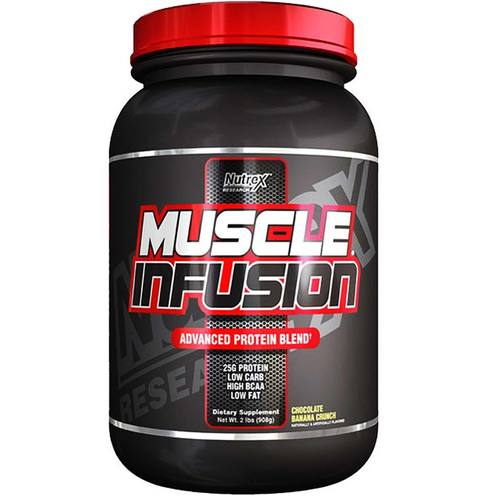 Nutrex Muscle Infusion Chocolate Banana Crunch - 2 lbs