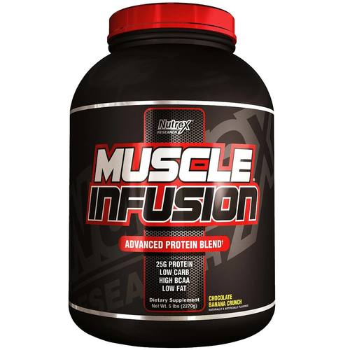 Nutrex Muscle Infusion Chocolate Banana Crunch - 5 lbs