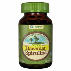 Nutrex Hawaii Pure Hawaiian Spirulina 500 mg - 200 Tablets