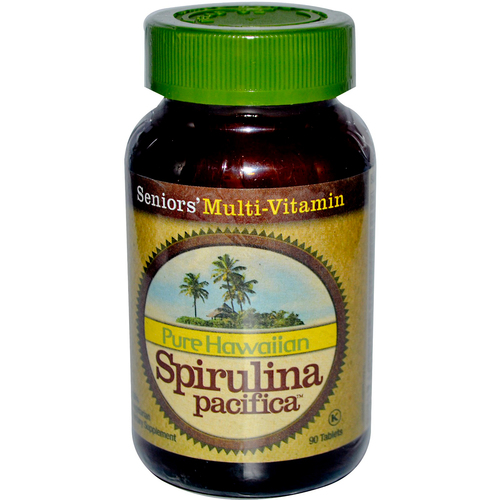 Pure Hawaiian Spirulina Pacifica Senior's Multi-Vitamin