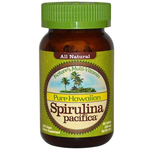 Pure Hawaiian Spirulina 500 mg