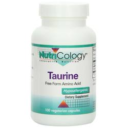 Nutricology L-Taurine 500 mg