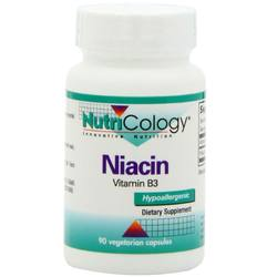 Nutricology Niacin Vitamin B3 250 mg