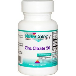 Nutricology Zinc Citrate 50 mg