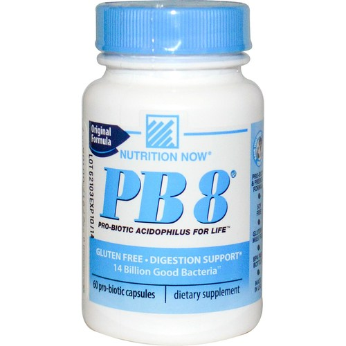 Nutrition Now Pb 8 Acidophilus 60 Caps