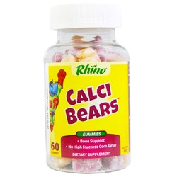 Nutrition Now Rhino Swirlin' Calci-Bears w/Vit. D