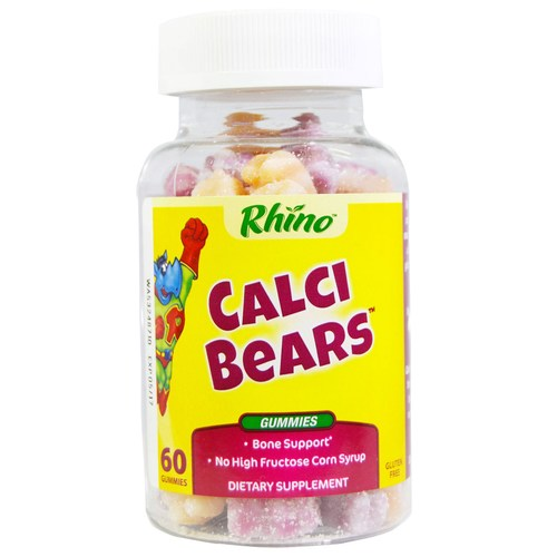 Rhino Swirlin' Calci-Bears w/Vit. D