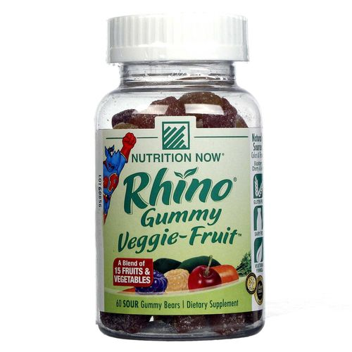 Rhino Veggie-Fruit Bears