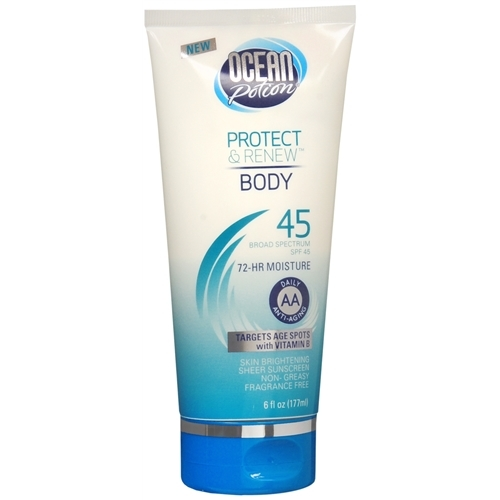 Protect & Renew Body Anti-Aging Sunscreen Lotion SPF 45
