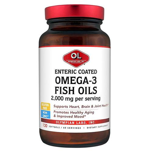 Enteric Coated Omega-3 Fish Oils