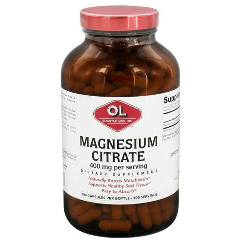Magnesium Citrate 400 mg