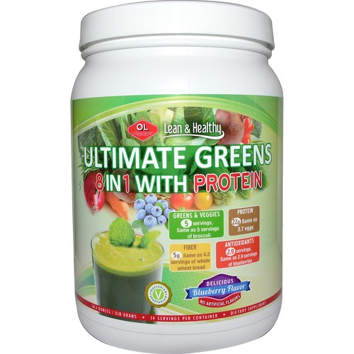 Ultimate Greens Protein 8 in 1 w/ Hemp Protein