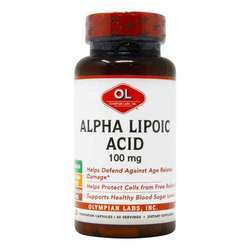 Olympian Labs Alpha Lipoic Acid 100 mg