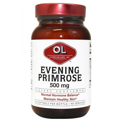 Olympian Labs Evening Primrose Oil 500 mg  - 90 Softgels