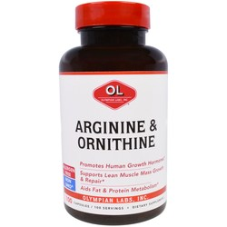 Olympian Labs Arginine and Ornithine