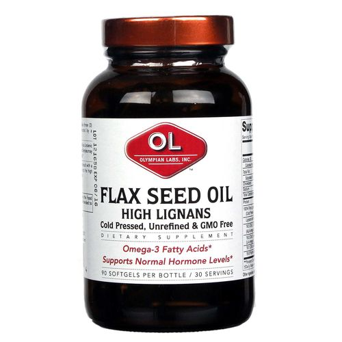 Flax Seed Oil High Lignans 1000 mg