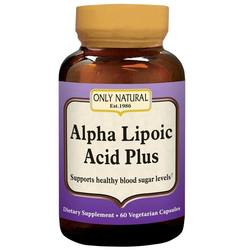 Only Natural Alpha Lipoic Acid Plus