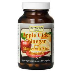 Only Natural Apple Cider Vinegar, Grapefruit & Cayenne