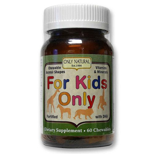 Only Natural For Kids Only - 60 Chewables - 20111003_1.jpg