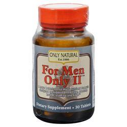 Only Natural For Men Only II