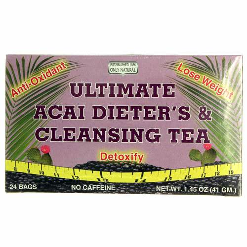Ultimate Acai Dieter's and Cleansing Tea
