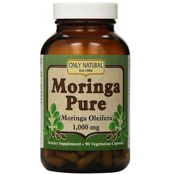 Only Natural Moringa Pure 1-000 mg