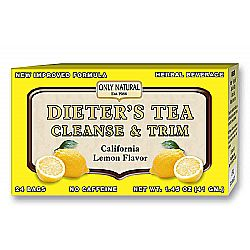 Only Natural Dieter's Tea, Lemon
