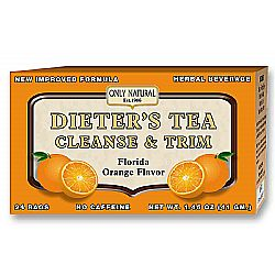 Only Natural Dieter's Tea- Orange