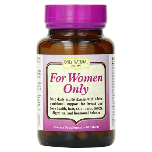 Only Natural For Women Only  - 30 Tablets - 7350_front.jpg