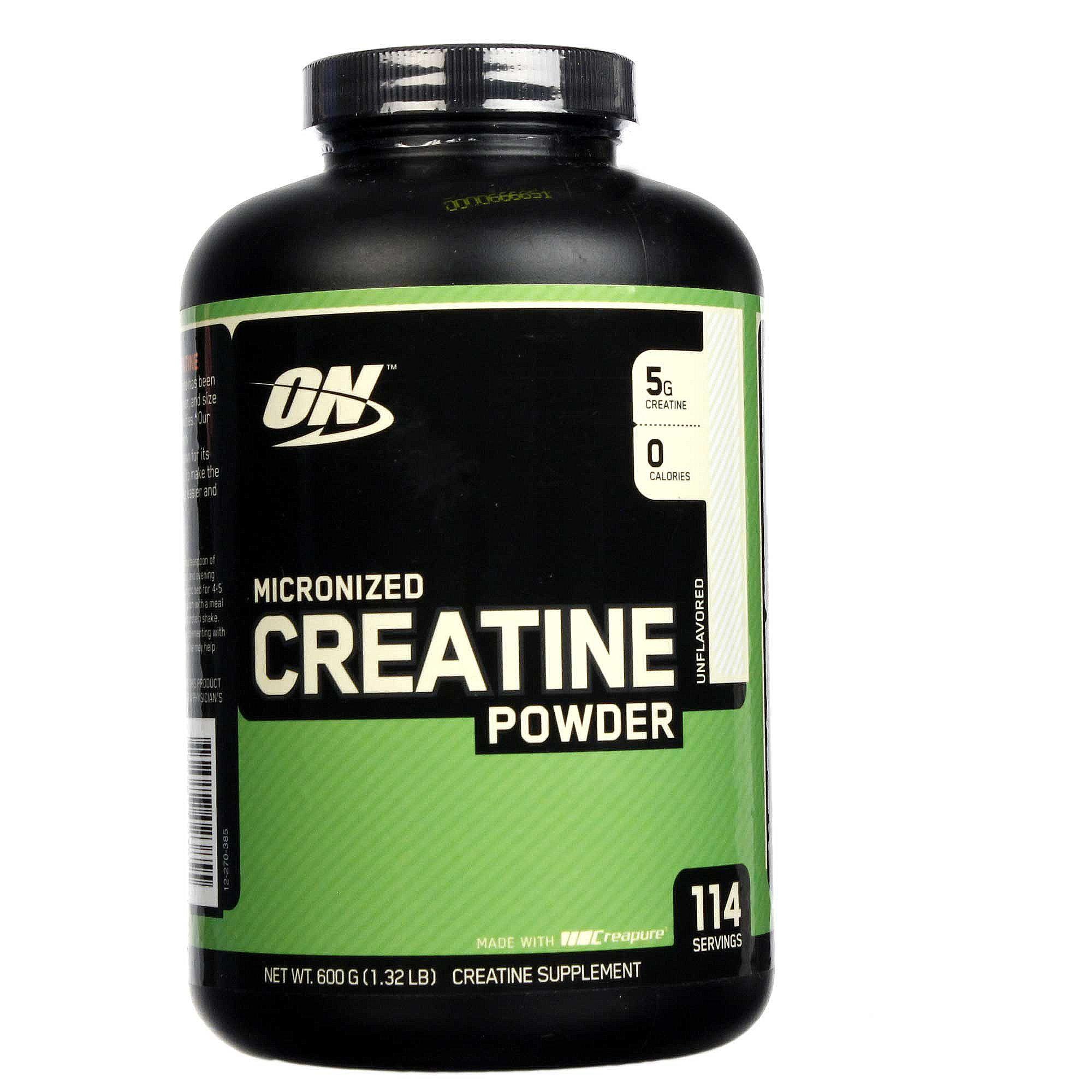 1c3a6857b Creatina em Pó (micronizada) Optimum Nutrition 600 gr - Menor Preço ...