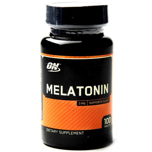 Optimum Nutrition Melatonina 3 mg 100 Tabletas - 18876_1.jpg