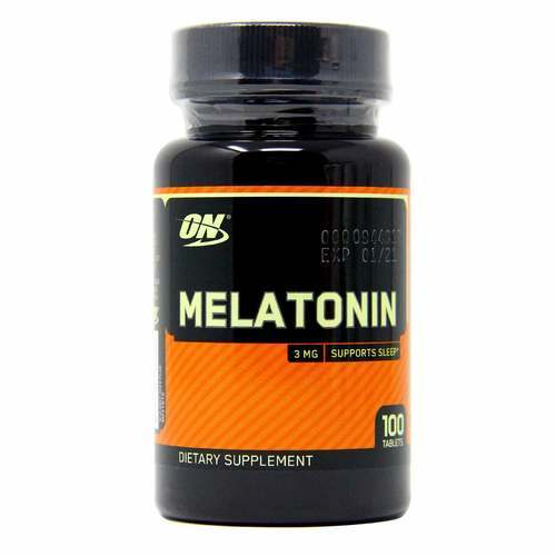 Optimum Nutrition Melatonin - 3 mg - 100 Tablets - 18876_front2020.jpg