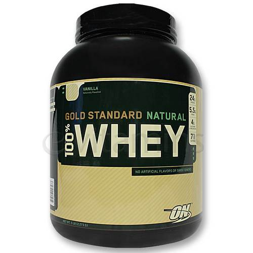 100% Natural Whey Protein Gold Standard
