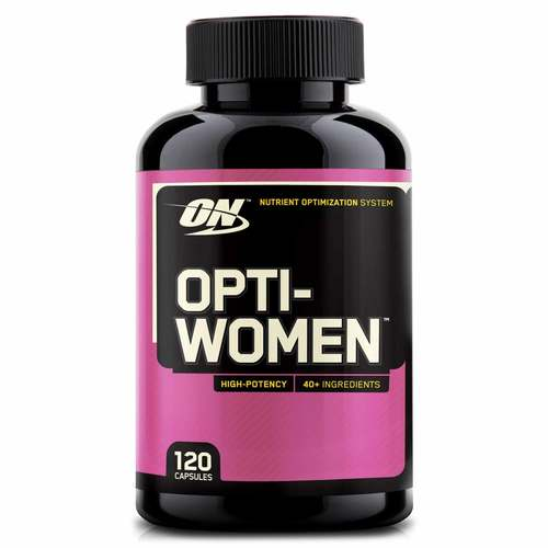 Optimum Nutrition Opti-Women  - 120 Capsules - 6618_front.jpg