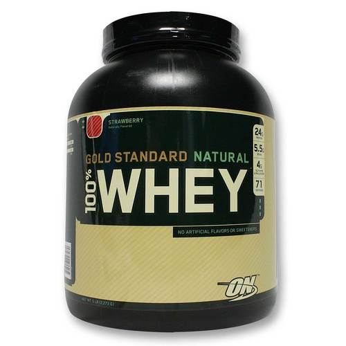 100% Whey Gold Standard Natural Protein