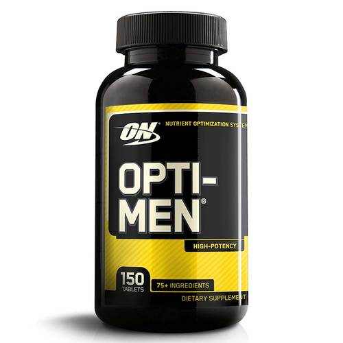 Optimum Nutrition Opti-Men, 남성종합비타민, 150 정 - 84173_front.jpg