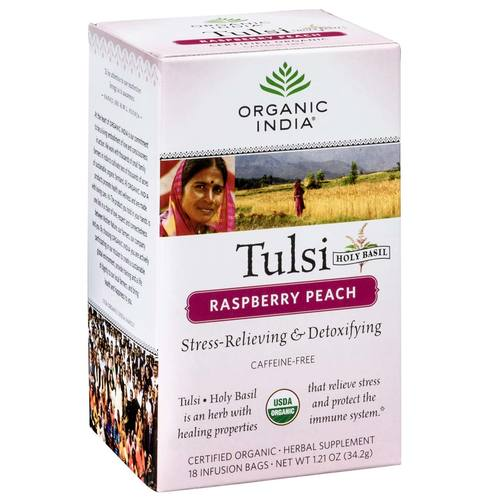 Tulsi Tea Raspberry Peach